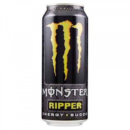 MONSTER  RIPPER   - ENERGY 0,5l  plech
