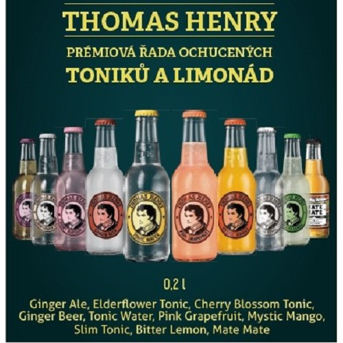 Thomas Henry - GINGER Ale    0,20 /