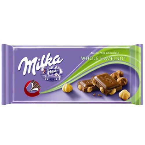 Milka  whole nuts 100g
