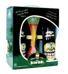 KWAK 19 dárkový set 4x0,33 l + sklenice/ 8,4%  belgické pivo