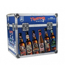 IRON Maiden Trooper mixed beer box 12x0,33l /4,7 %   sklo