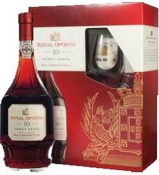 Royal OPORTO 10YO 0,75  +  2 skleničky