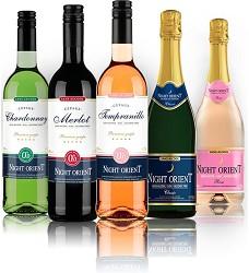 NIGHT ORIENT TEMPRANILLE  0,75l ROSE Nealko víno