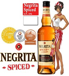 NEGRITA  SPICED Golden 35% 0,70