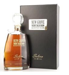 New Grove Solera Very Old RUM  40%  0,7l 25 Years  (rum .)Mauritius