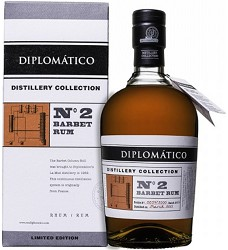 DIPLOMATICO No.2 - Barbet  rum - 47%  0,70 -Limited Edition