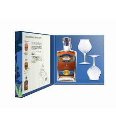 COLOMA 8 yo Kazeta + 2xsklo  40%  0,7 l (rum .) COLOMBIA