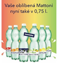 MATTONI citron       0,75l PET