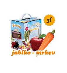 OVOCŇÁK mošt  JABLKO  + mrkev  -   3 l BiB