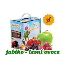 OVOCŇÁK mošt  JABLKO  + lesní ovoce     3 l BiB