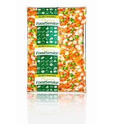 Zeleninová směs - Polévková jemná 1kg (4x2,5kg karton) AGRO