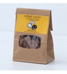 Bwindi Banány v 75% čokoládě 50 g
