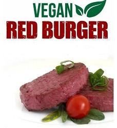 GOODY FOODY  burger červený  113 g 1 ks - pro VEGANY mražený (8 ks sáček - nedělitelný )