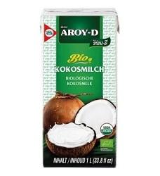 Kokosové mléko BIO AROY - D 1 L